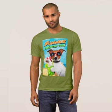 Beach Themed SUMMER RELAXIN' TIME T-Shirt