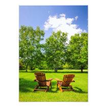 Summer relaxing card