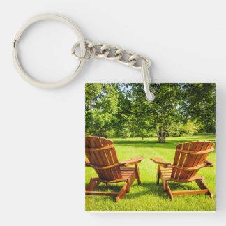 Summer relaxing keychain