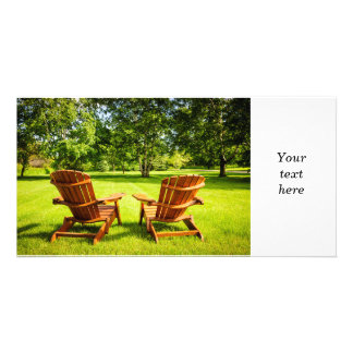 Summer relaxing photo cards