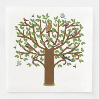 Summer Reunion Paper Dinner Napkin