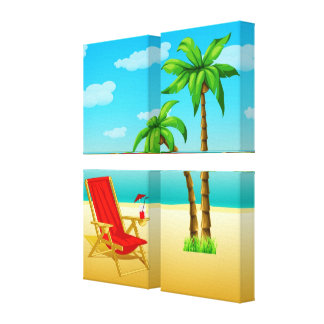 Summer Reverie Poster Canvas2 Canvas Print