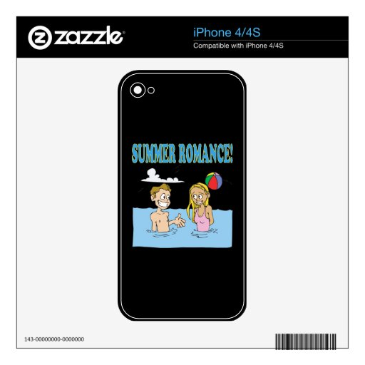 Summer Romance 2 Decal For The iPhone 4