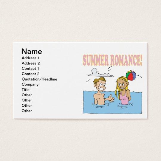 Summer Romance Business Card