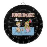 Summer Romance Dart Board