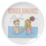 Summer Romance Dinner Plates
