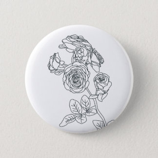 Summer Rose Button