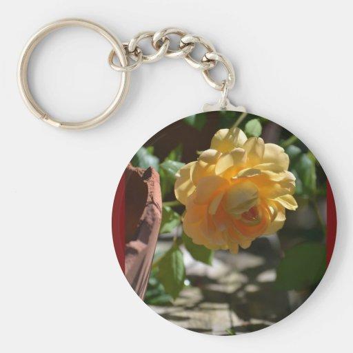 Summer Rose Garden Keychains