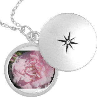 Summer Rose Locket Necklace