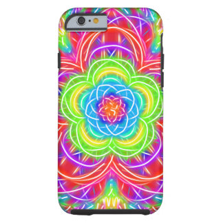 Summer Rose Modern Kaleidoscope Tough iPhone 6 Case