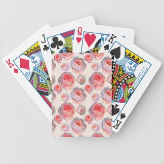 Summer rose pattern vintage design card cover