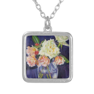 Summer Roses 2007 Silver Plated Necklace