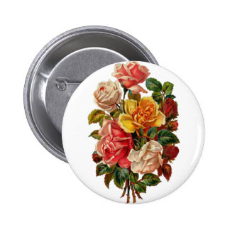 Summer Roses Button
