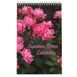Summer Roses Calendar