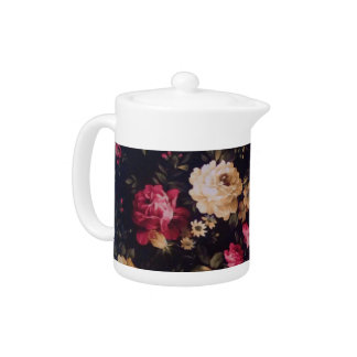 Summer Roses Small Teapot