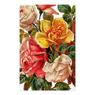 Summer Roses Stationery