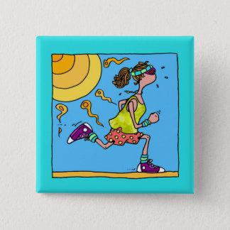 summer runner (woman) button