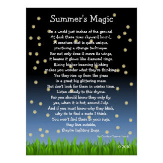 Summer s Magic Posters