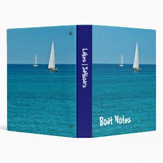 Summer Sailing Binder