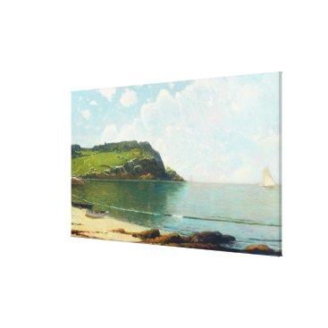 Beach Themed Summer Sailing Canvas Print