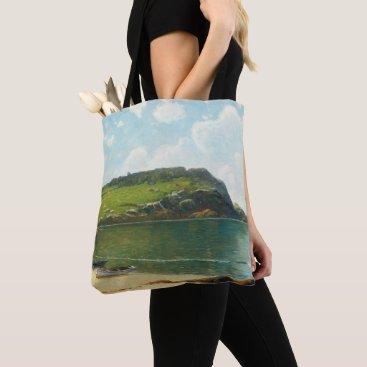 Beach Themed Summer Sailing Tote Bag