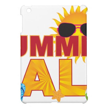 Summer Sale Beach Theme Banner Illustration Cover For The iPad Mini