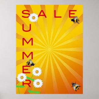 Summer Sale Illustration Poster