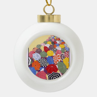 Summer sales quickly reached by Underground Ceramic Ball Christmas Ornament