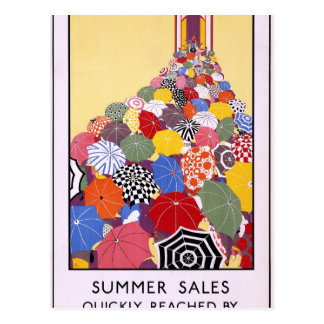 Summer sales quickly reached by Underground Postcard