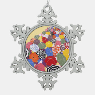 Summer sales quickly reached by Underground Snowflake Pewter Christmas Ornament