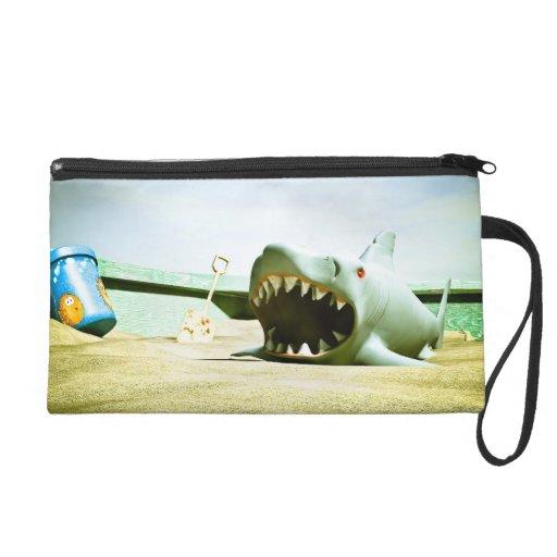 Summer Sand Box Fun 01 Bagettes Bag Wristlet