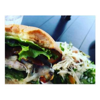 Summer Sandwich Postcard