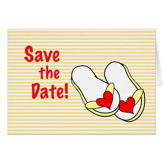 Summer Save the Date Cards