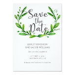Summer Save The Date. Garden Wedding Announcement at Zazzle