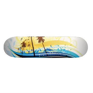 Summer Scene Skateboard