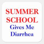 Summer School Diarrhea Sticker