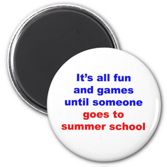 Summer School Magnet
