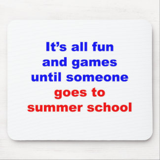 Summer School Mouse Pad