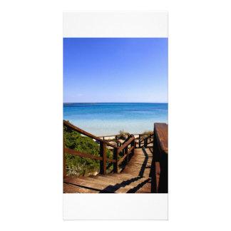 summer sea sardinia card
