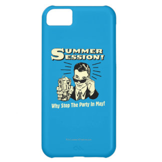 Summer Session: Why Stop the Party iPhone 5C Case
