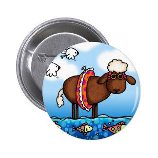 summer sheep button