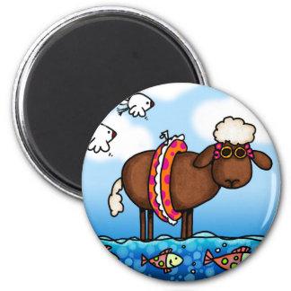 summer sheep magnet