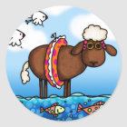 summer sheep stickers
