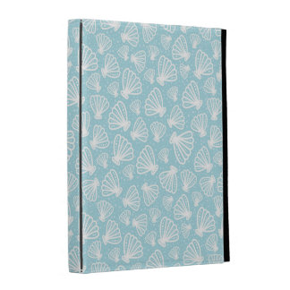 Summer Shell Pattern iPad Folio Case