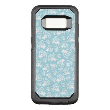 Beach Themed Summer Shell Pattern OtterBox Commuter Samsung Galaxy S8 Case