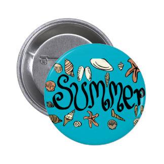 Summer shells button