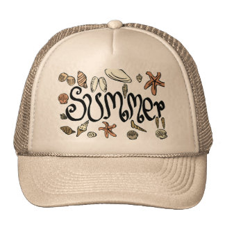 Summer shells cap