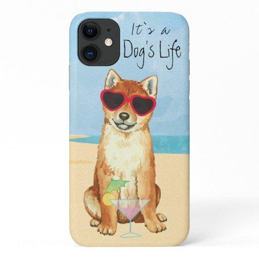 Summer Shiba Inu iPhone 11 Case