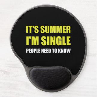 Summer Single Gel Mouse Pad