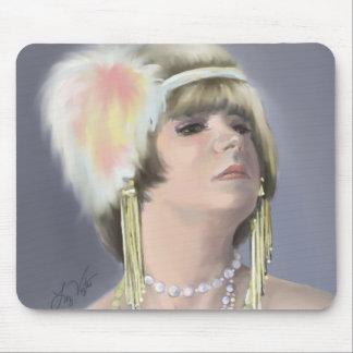 Summer Siren portrait Mousepad